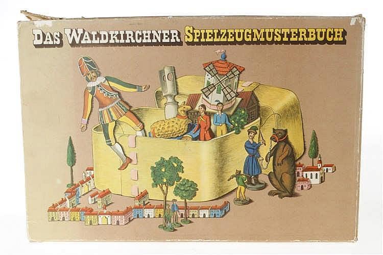 """Buch """"Das Waldkirchner Spielzeugmusterbuch"""""""