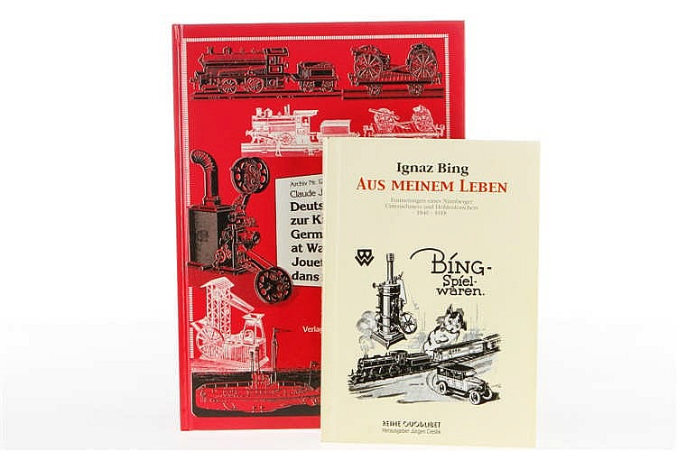 """2 Bing Bücher """"Archiv Nr. 122"""" und """"Ignaz Bing - Aus meinem Leben"""""""