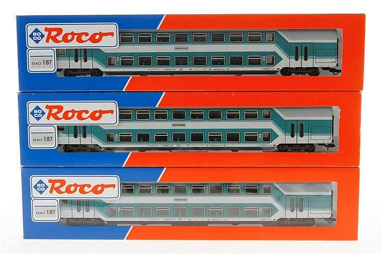 3 Roco Personenwagen 45286