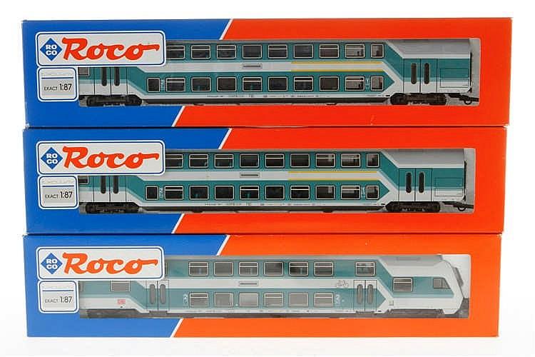 3 Roco Personenwagen