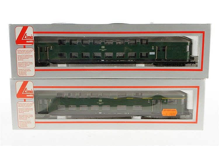 2 Lima Doppelstockwagen