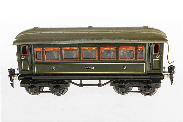 Märklin Personenwagen 1888