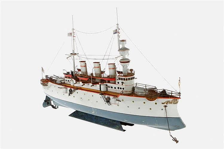 """Bing größtes Kriegsschiff """"Fürst Bismarck"""" 13093"""