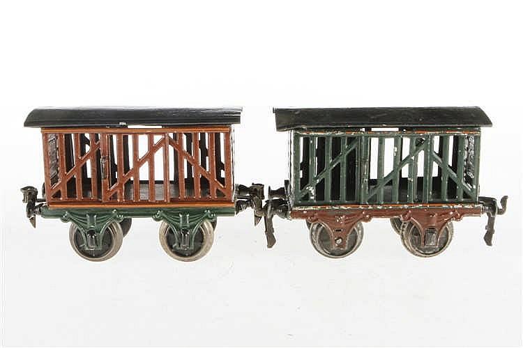 Märklin Vieh- und Milchwagen 1809