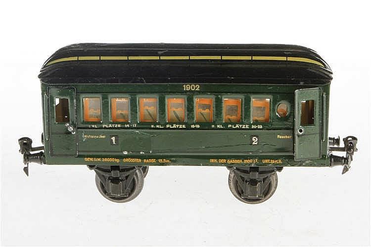 Märklin Personenwagen 1902