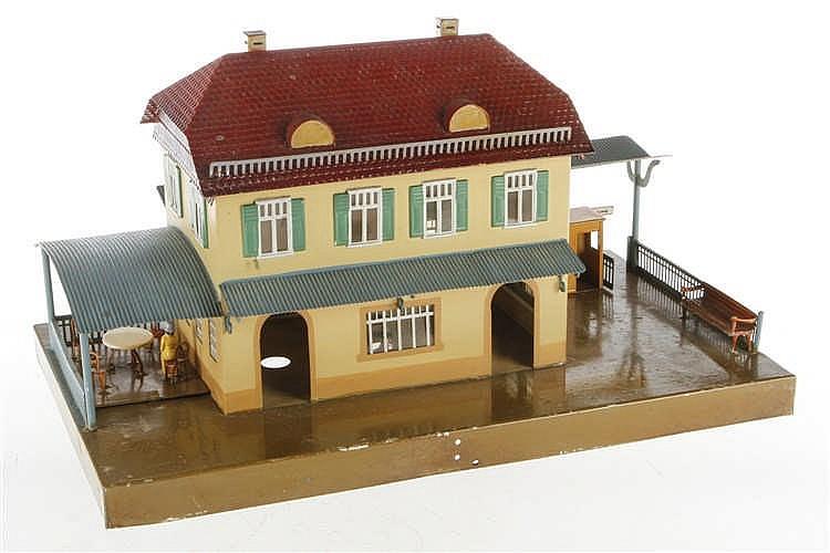 Märklin Kleinstadtbahnhof 2029
