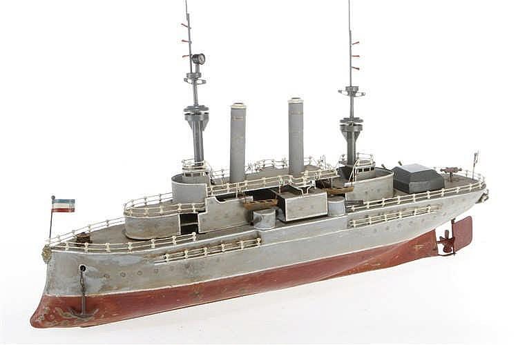 Eigenbau-Blechschiff