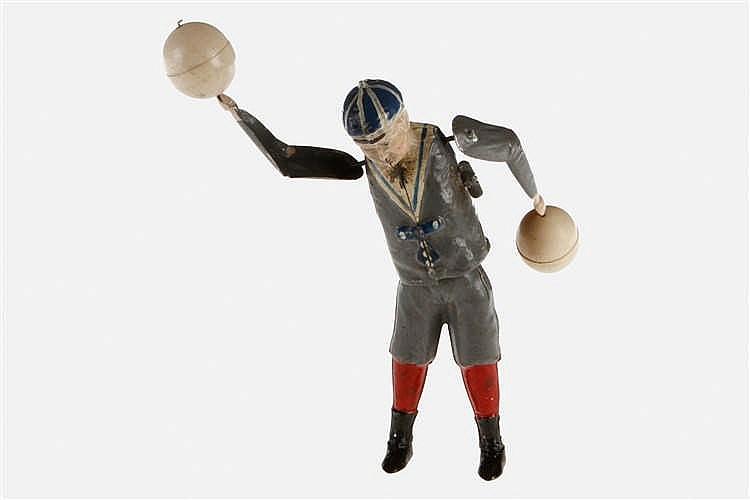 Bing Tanzfigur Matrosenjunge mit 2 Bällen