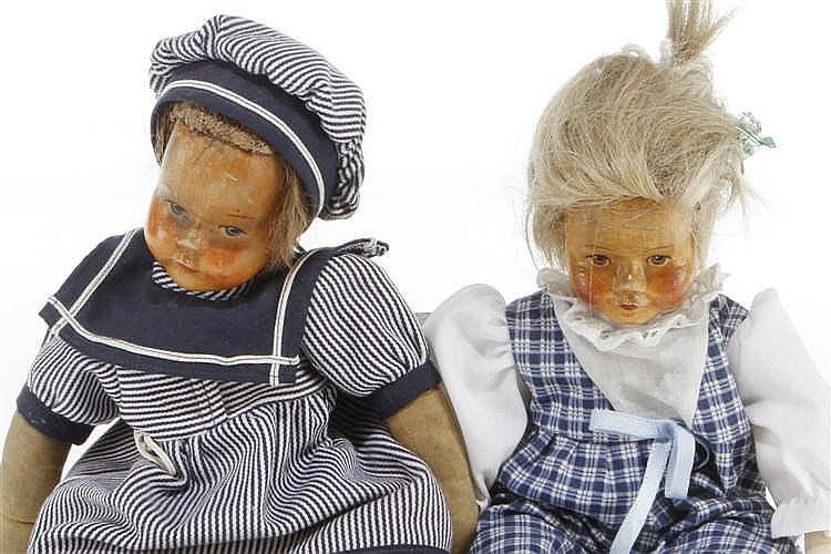 2 Cramer Puppen