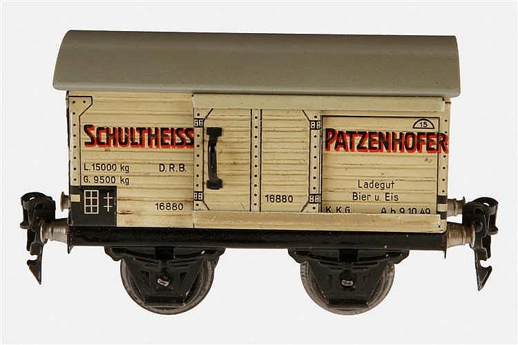 Märklin Bierwagen Schultheiss Patzenhofer 1688