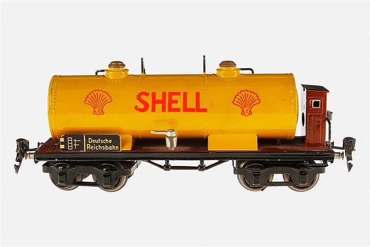 Märklin Shell Prototyp Kesselwagen 1854