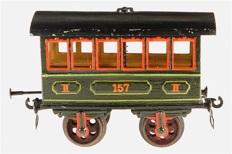 Märklin Katastrophen-Personenwagen 1838