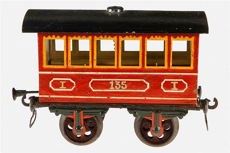 Märklin Katastrophen-Personenwagen 1837