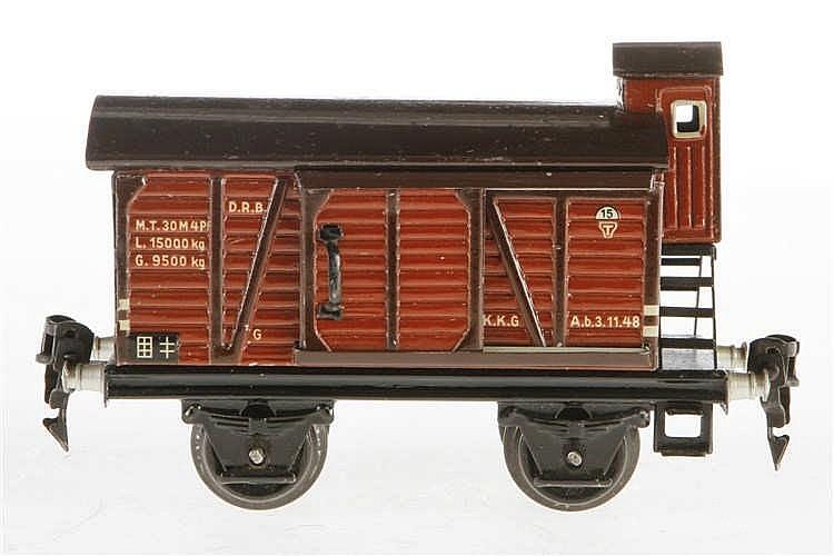 Märklin gedeckter Güterwagen 1696