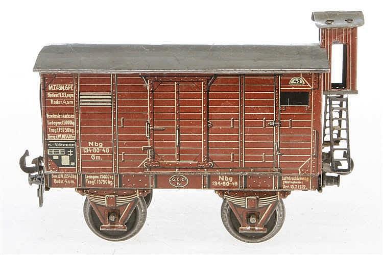 Carette gedeckter Güterwagen