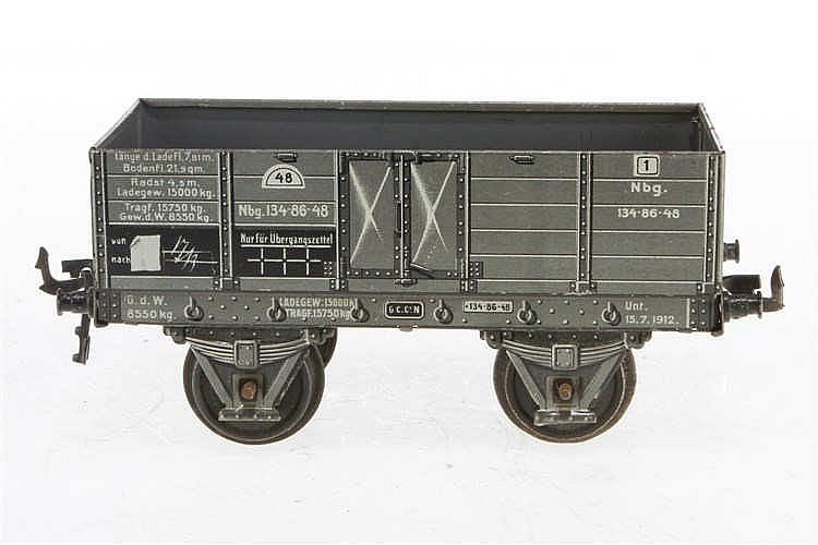 Carette offener Güterwagen