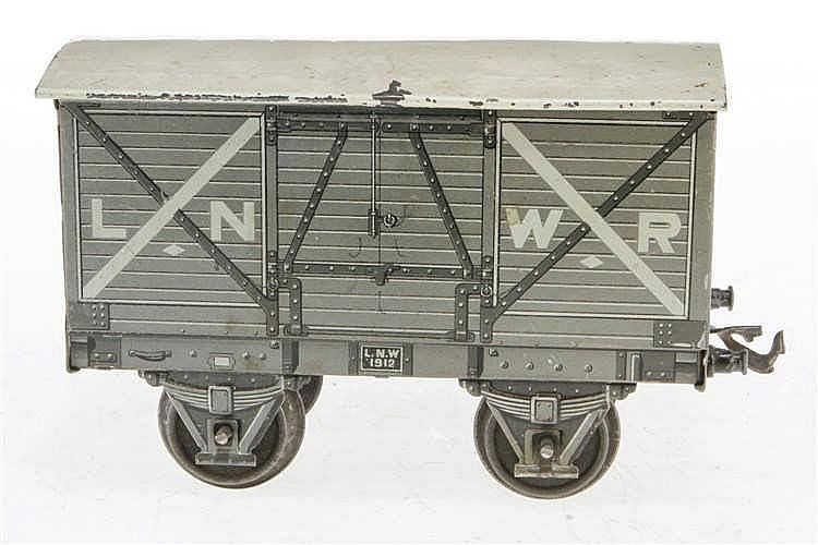Carette gedeckter Güterwagen LNWR