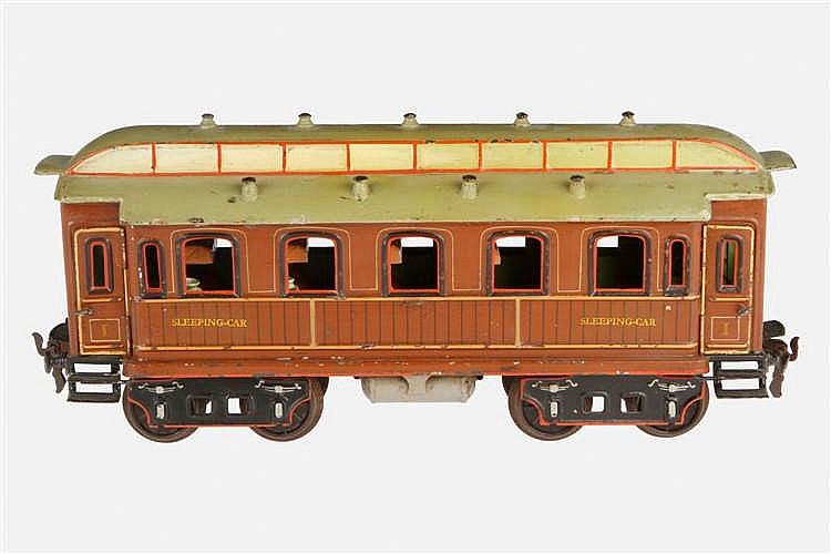 Märklin englischer Schlafwagen 1843