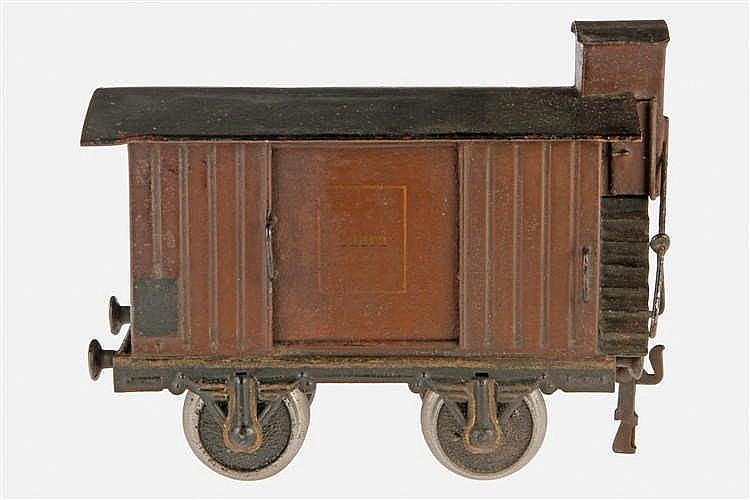 Märklin englischer gedeckter Güterwagen 1804