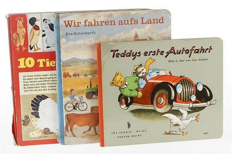 "3 Kinderbücher ""Teddys erste Autofahrt"""