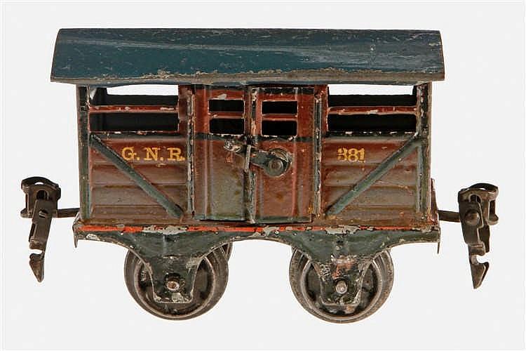 Märklin englischer Viehwagen 2866 GNR 381