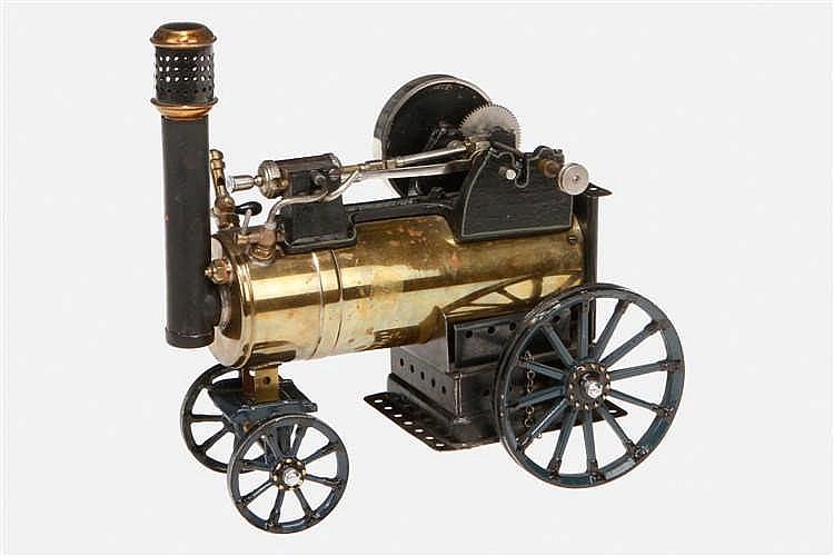 Märklin Verwandlungsmotor als fahrbare Lokomobile