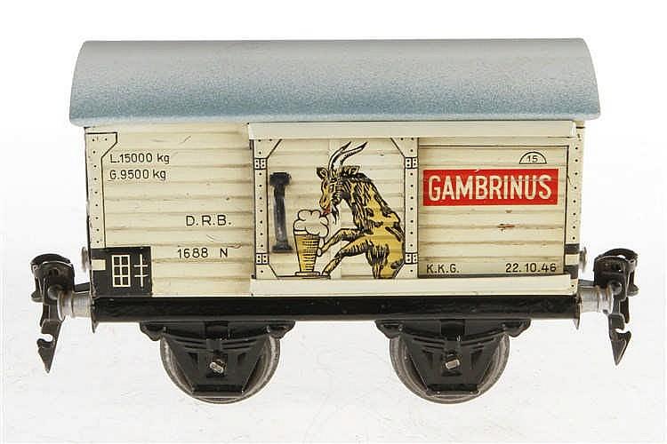 Märklin Gambrinus Bierwagen 1688