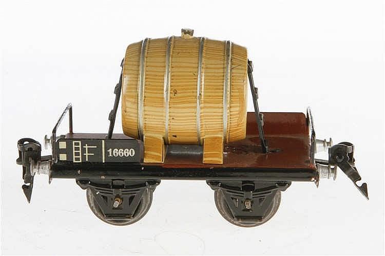 Märklin Fasswagen 1666
