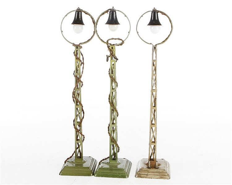 3 Märklin Ringkopfbogenlampen 13450