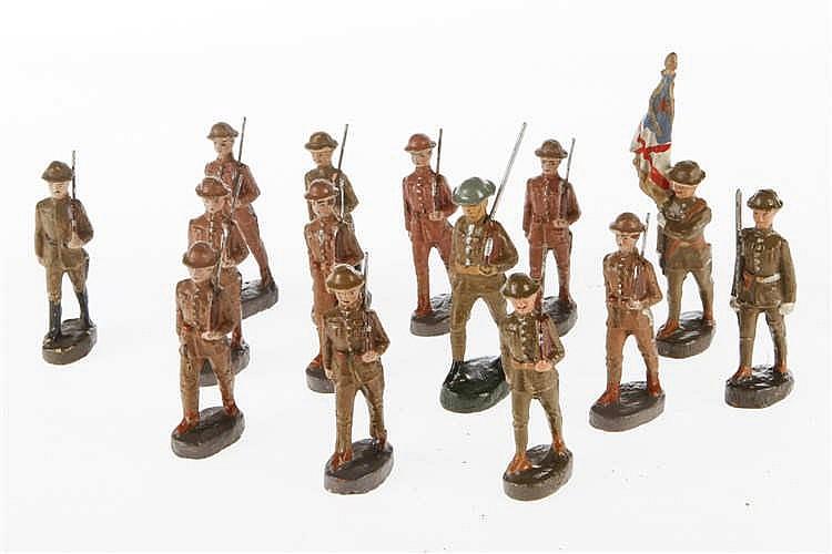 Konv. englische Soldaten