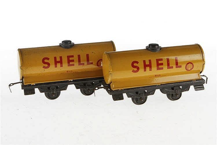 2 Bub Shell Kesselwagen