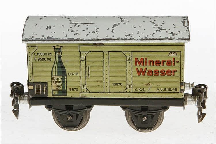 Märklin Mineralwasserwagen 1687