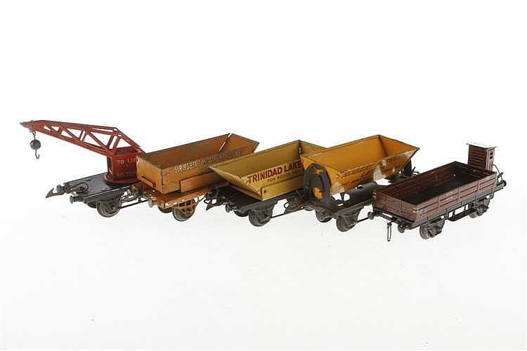 4 Hornby Güterwagen