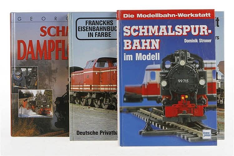 "3 Eisenbahnbücher ""Schmalspur-Bahn"""