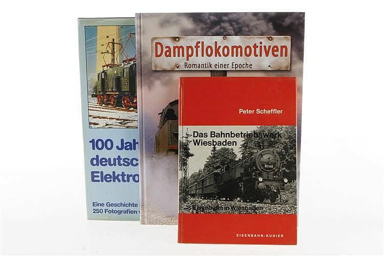 """3 Eisenbahnbücher """"Das Bahnbetriebswerk Wiesbaden"""""""