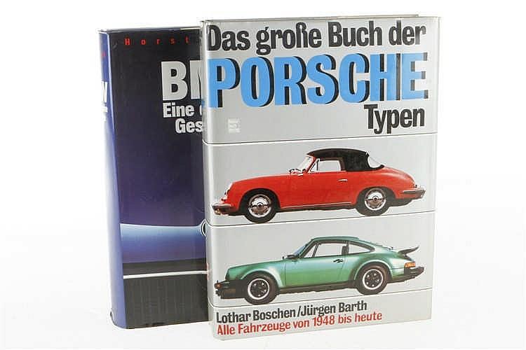 """2 Bücher """"BMW Eine deutsche Geschichte"""" und """"Das große Buch der Porsche Typen"""""""