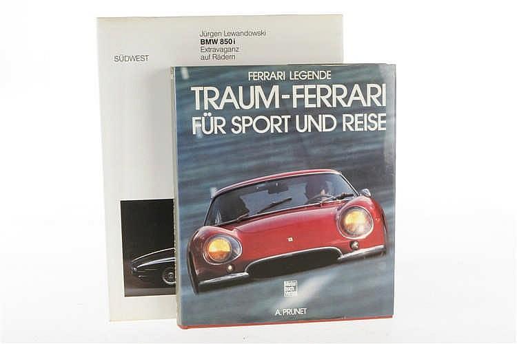 """2 Bücher """"BMW 850 i"""" und """"Ferrari Legende"""""""