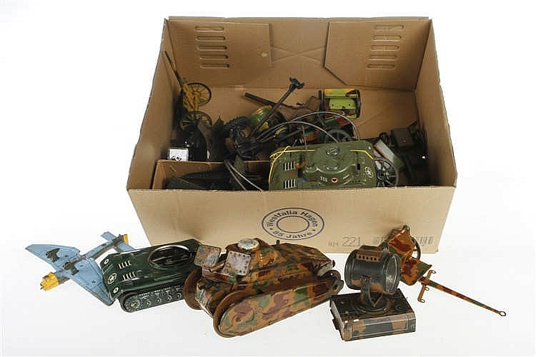 Konv. Militärspielzeug-Ersatzteile