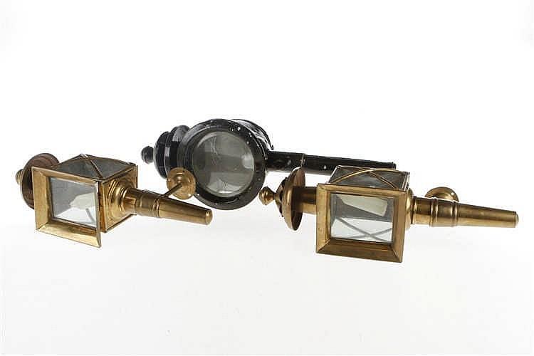 3 versch. Lampen für Schlussbeleuchtung und Scheinwerfer