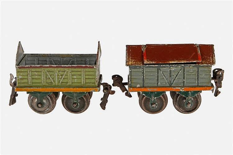 2 Märklin Güterwagen 1815 und 1820
