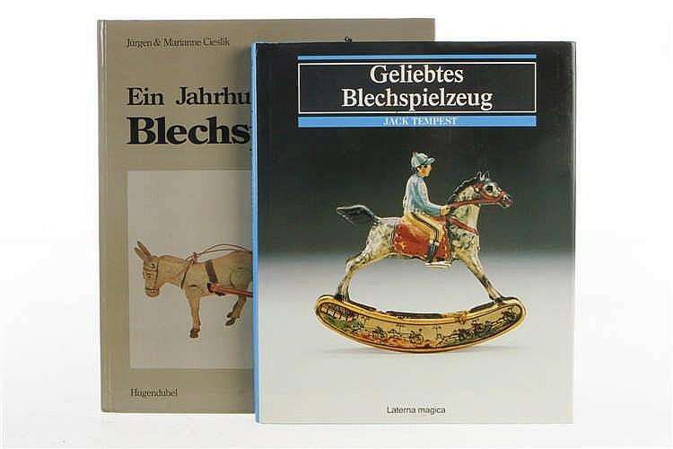 """2 Bücher """"Geliebtes Blechspielzeug"""" und """"Ein Jahrhundert Blechspielzeug"""""""