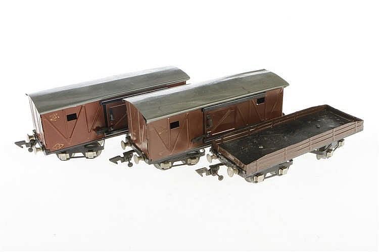 3 Moskvabel Güterwagen