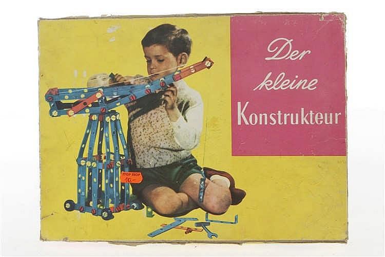 """Plastikbaukasten """"Der kleine Konstrukteur"""""""