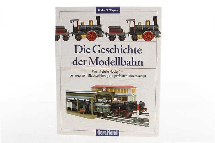 """Buch """"Die Geschichte der Modellbahn"""""""