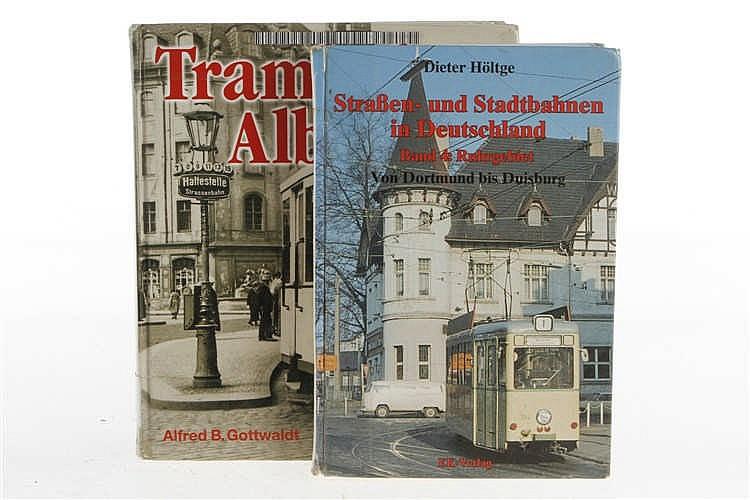 """2 Bücher """"Straßen- und Stadtbahnen in Deutschland"""" und """"Trambahn-Album"""""""