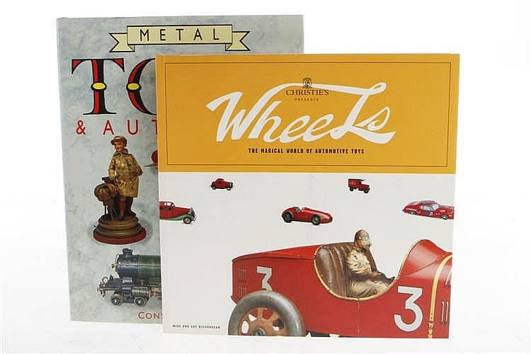 """2 Bücher """"Christies Wheels"""" und """"Metal Toys & Automata"""""""