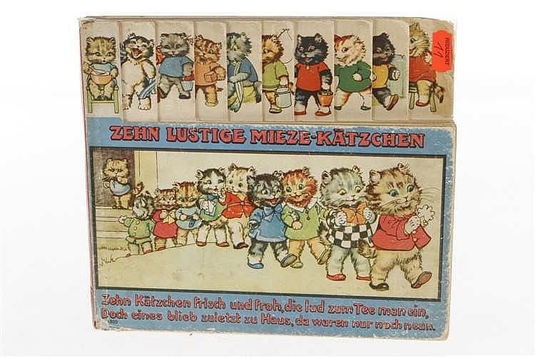 "Buch ""10 lustige Mieze-Kätzchen"""