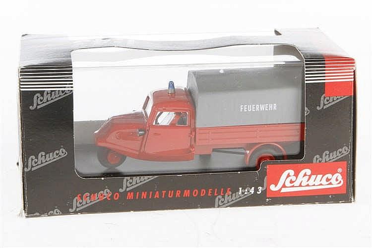 Schuco Tempo Feuerwehr 02212