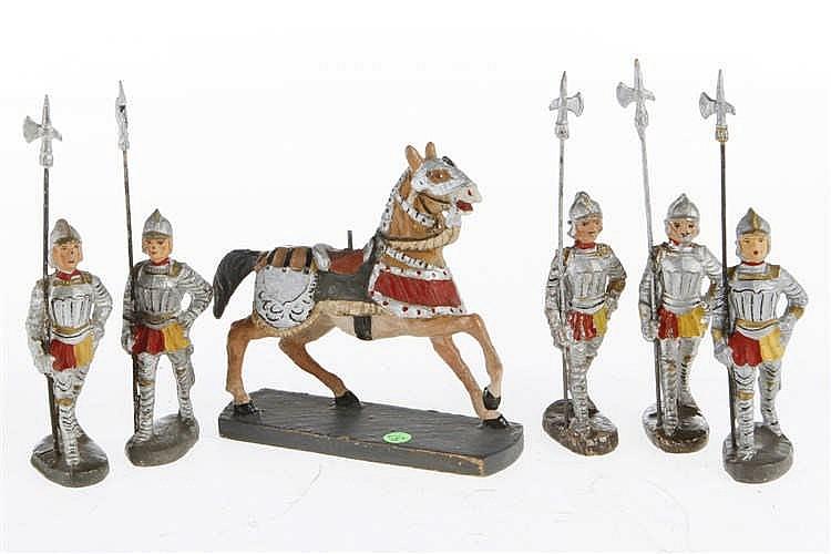 5 E Ritter und Pferd