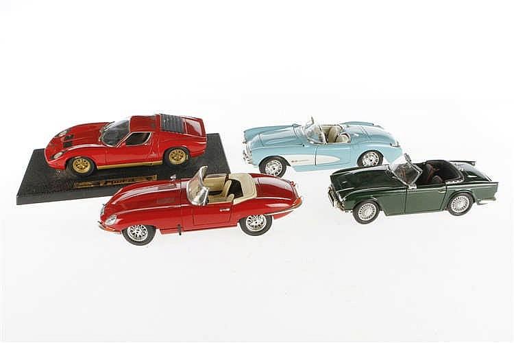 4 versch. Automodelle